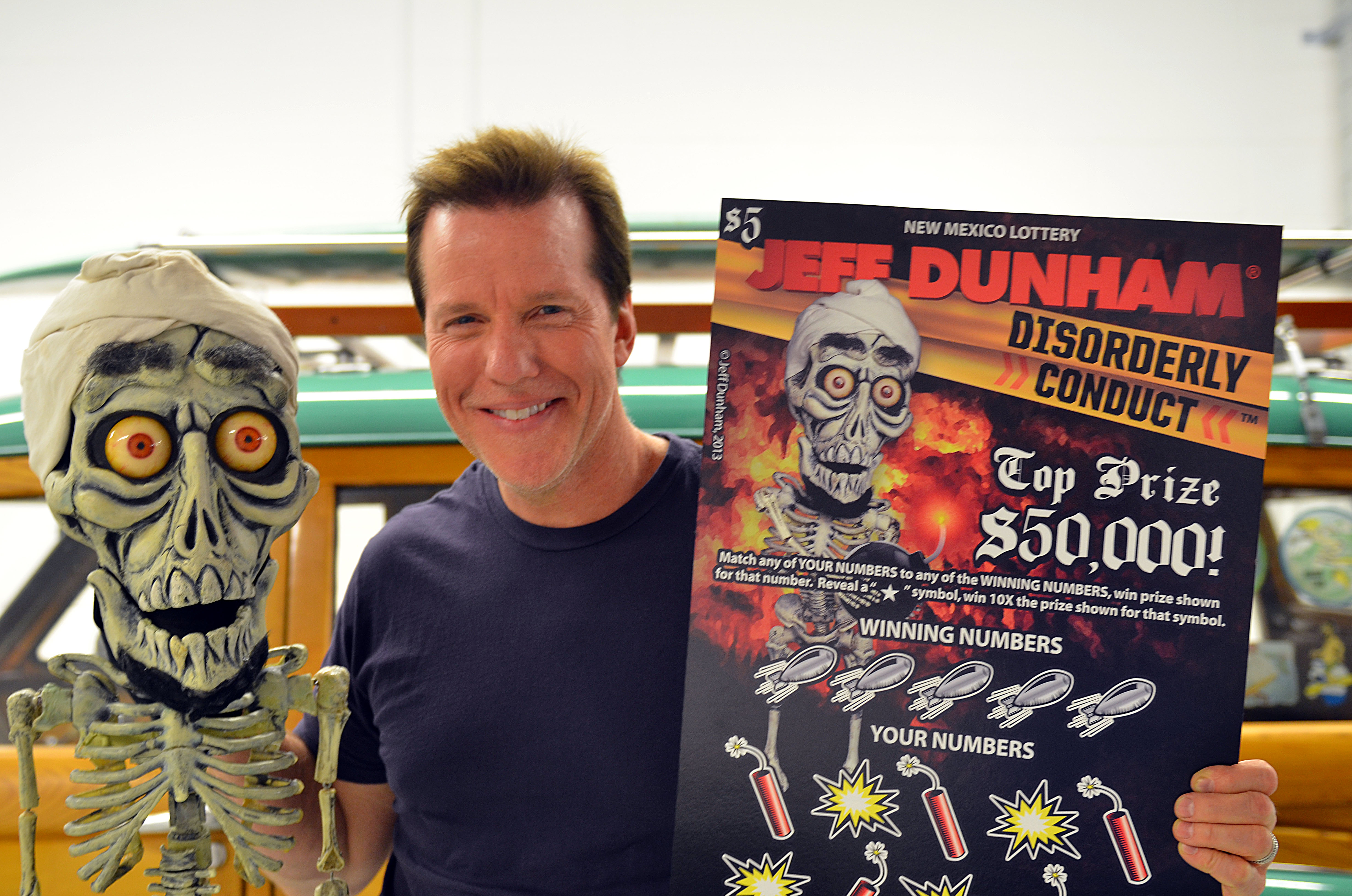 Comedian jeff dunham new mexico lottery create world premiere comedian jeff dunham is a scratcher star m4hsunfo